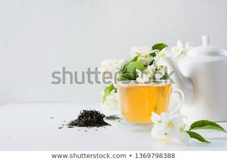 茶 · 白 · ツール · 孤立した · 家庭 - ストックフォト © ildi