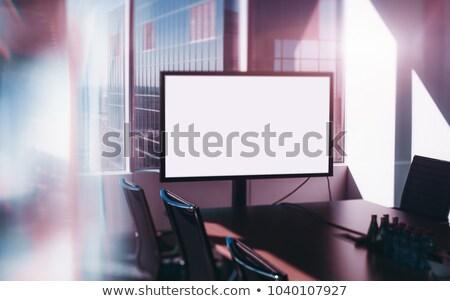 the tilted room Stock photo © sirylok