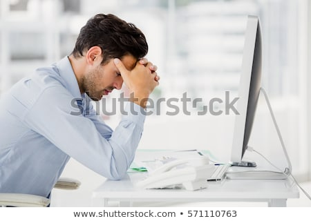 Stressed executive Stock photo © photography33