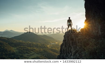 Couragous Climber Stock photo © macropixel