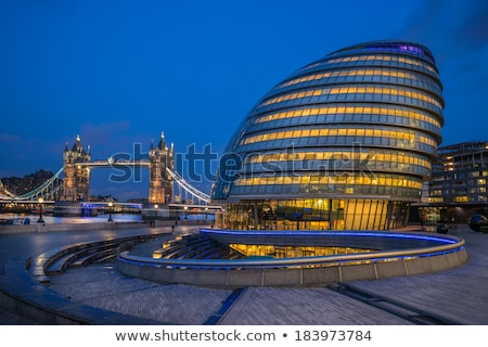 abstract · metaal · Londen · staal · licht - stockfoto © haiderazim