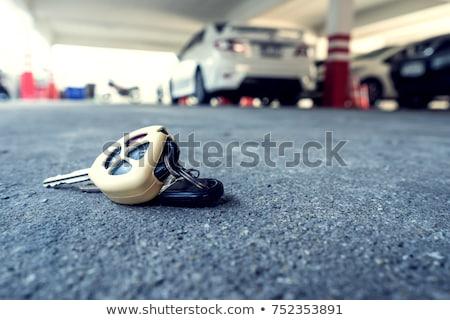 kéz · felajánlás · új · kulcsok · férfi · kettő - stock fotó © rtimages