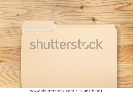 Brown file Stock photo © RTimages