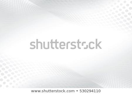 Abstract smoke patterns on white stock photo © Arsgera