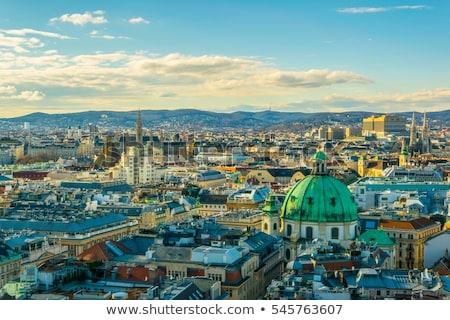 Votivkirche in Vienna, Austria Stock photo © vladacanon