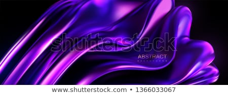 violet silk drape, background Stock photo © ozaiachin