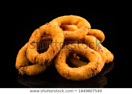 tapas · tintahal · gyűrűk · tengeri · hal · Spanyolország · kenyér - stock fotó © shamtor