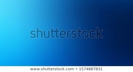 Soyut mavi eğim kabarcıklar spot su Stok fotoğraf © ajlber