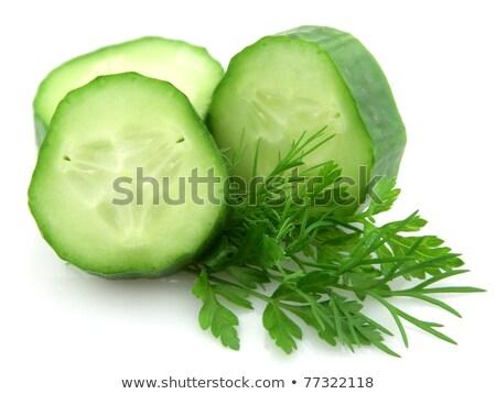 Pepino funcho branco verde salada planta Foto stock © Masha