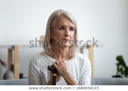 Nurse sitting looking up Stock photo © wavebreak_media