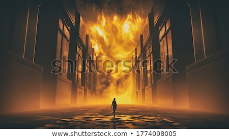 The rope for the gallows. 3D rendering Stock photo © cherezoff