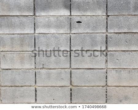 тротуар шаблон конкретные блоки желтый цвета Сток-фото © meinzahn