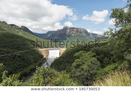 the swadini dam near the blyde river Stock photo © compuinfoto