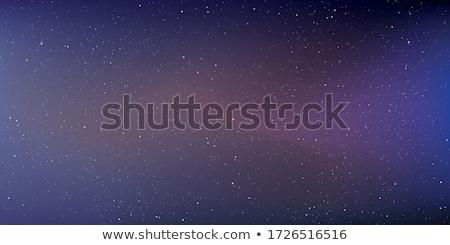 Estrellas cielo de la noche cielo resumen belleza noche Foto stock © shihina