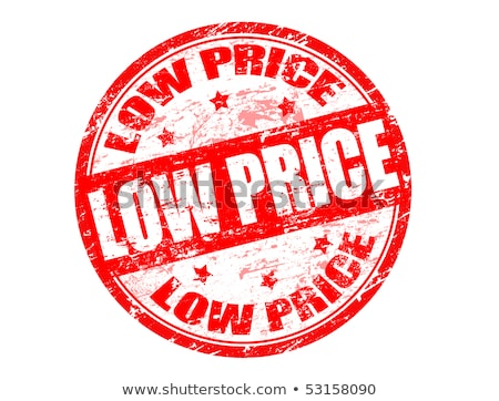 Stock photo: Sell Low-stamp