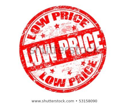 alacsony · árak · grunge · pecsét · szöveg · üzlet - stock fotó © carmen2011