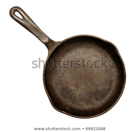 old frying pan stock photo © dezign56