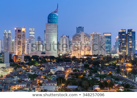 Downtown of Jakarta, Indonesia Stock photo © joyr