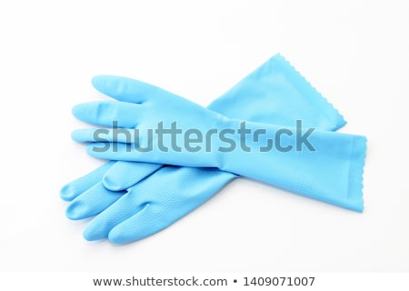 household protective rubber glove isolated on white background  Stock photo © ozaiachin