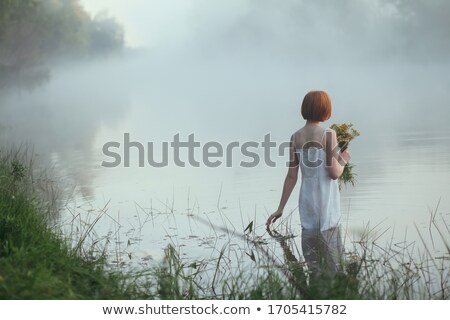 Girl in long dress Stock photo © svetography