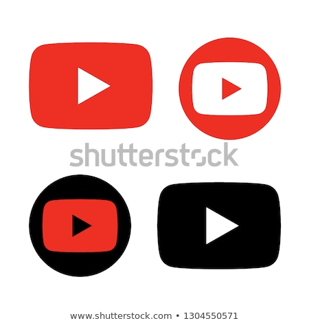 download video red vector icon design stock photo © rizwanali3d