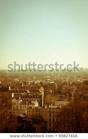 Paris · Tour · Eiffel · France · espace · texte · image - photo stock © ilolab