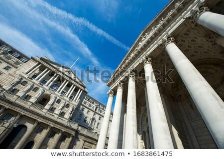 bank · Anglia · történelmi · épület · London · klasszikus - stock fotó © photocreo