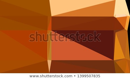 Rooskleurig bruin abstract laag veelhoek stijl Stockfoto © patrimonio