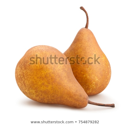 Two ripe Bosc pears Stock photo © Digifoodstock