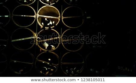 vinho · garrafas · idade · dentro · escuro - foto stock © feverpitch
