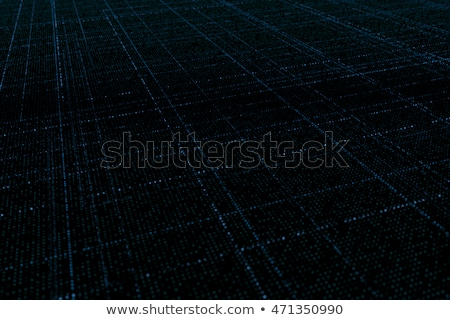 futuristic technology background made with glowing particles wit Stock photo © SArts