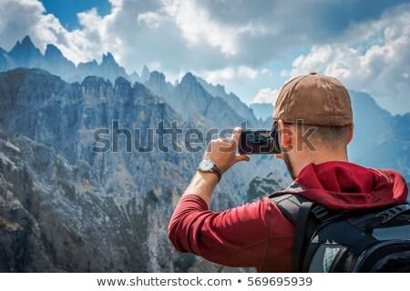 detail · fotograaf · geïsoleerd · witte · glas · achtergrond - stockfoto © stokkete