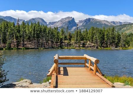 luka · Nevada · góry · California · lasu · drzew - zdjęcia stock © pancaketom