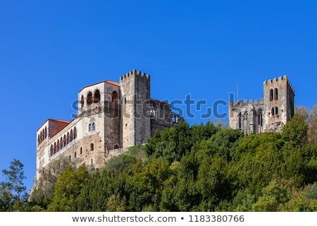 城 古代 中世 空 建物 アーキテクチャ ストックフォト © luissantos84