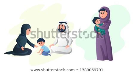 paar · zoon · familie · man · moeder - stockfoto © monkey_business