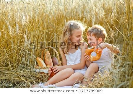 мальчика · апельсиновый · сок · портрет · кавказский · из - Сток-фото © is2
