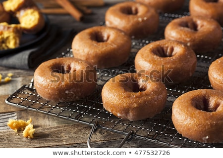 Homemade donuts with glaze Stock photo © Melnyk