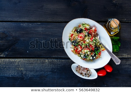 ensalada · aguacate · manzana · perfecto · dieta - foto stock © m-studio
