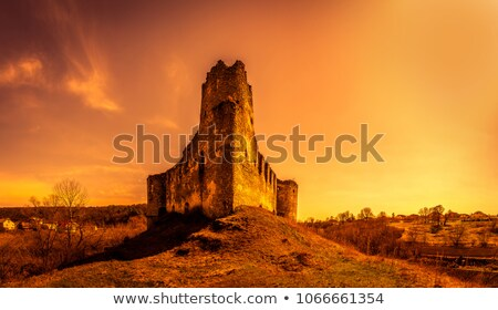 Eski kilise köy bölge Ukrayna bakire Stok fotoğraf © wildman