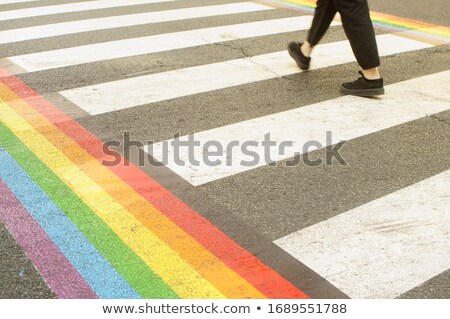 Gay street sign in New York, United States Stock photo © boggy