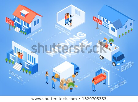 business load for buy house concept. Stock photo © snowing
