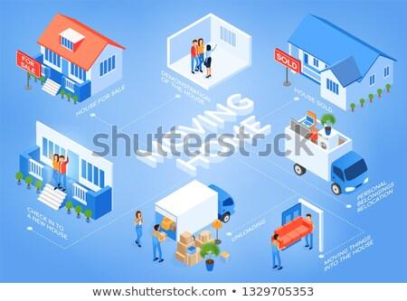 üzlet · rakomány · vásárol · ház · modell · otthon - stock fotó © snowing