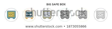 fermé · portefeuille · réaliste · carte · de · crédit · blanche - photo stock © robuart
