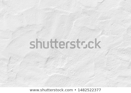 Blanche plâtre mur inégale surface texture Photo stock © grafvision