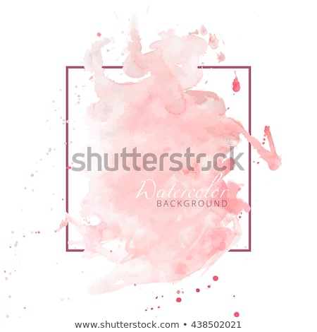 Pêssego cor elegante aquarela textura abstrato Foto stock © SArts