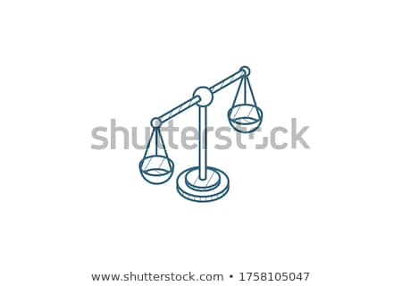 droit · justice · noir · isolé · affaires - photo stock © netkov1