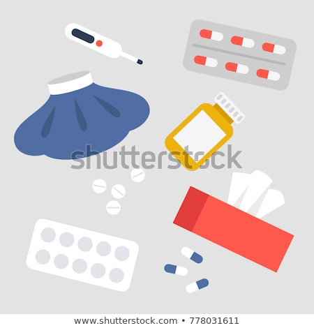 vector set of cold pack Foto stock © olllikeballoon