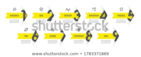 zaman · Çizelgesi · infographics · tasarım · şablonu · kâğıt · soyut · dünya - stok fotoğraf © sarts