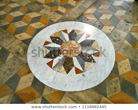 katholiek · kerk · Italië · Rood · baksteen - stockfoto © borisb17