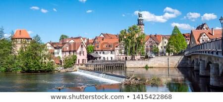Market square, Lauf an der Pegnitz, Germany Stock photo © borisb17
